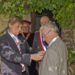 Remise des Insignes d'Officier du Mérite Agricole à Monsieur Claude Norguet
